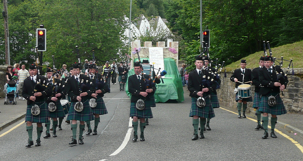 Lanark and District Pipe Band