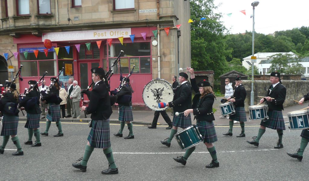 Lanark and District Junior Pipe Band