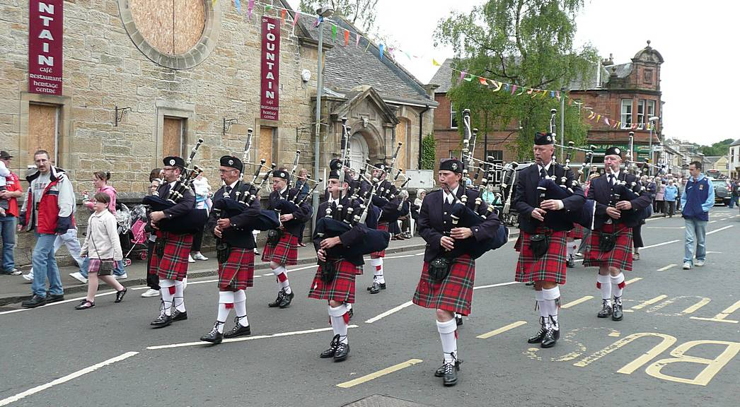 The second East Kilbride Pipe Band