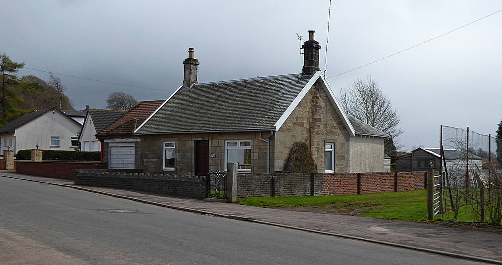 Brocketsbrae former stationmaster's house