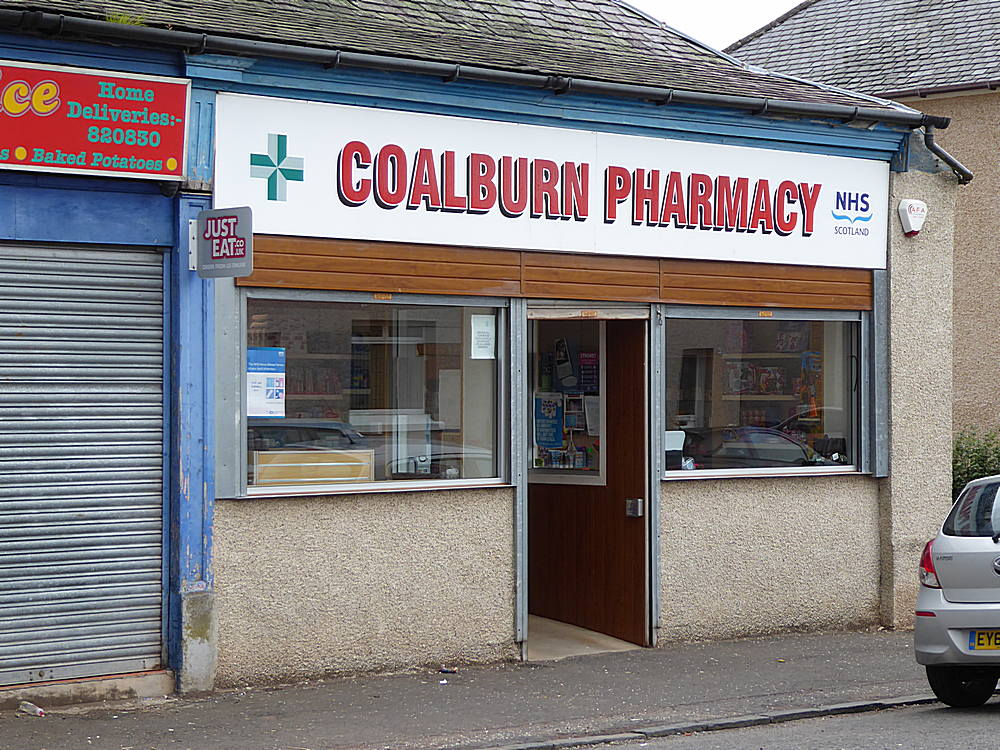 Coalburn Pharmacy. 29th August