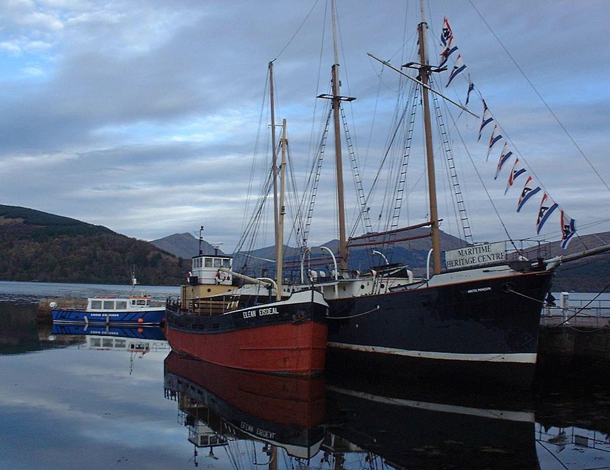 Boats at Inverarary