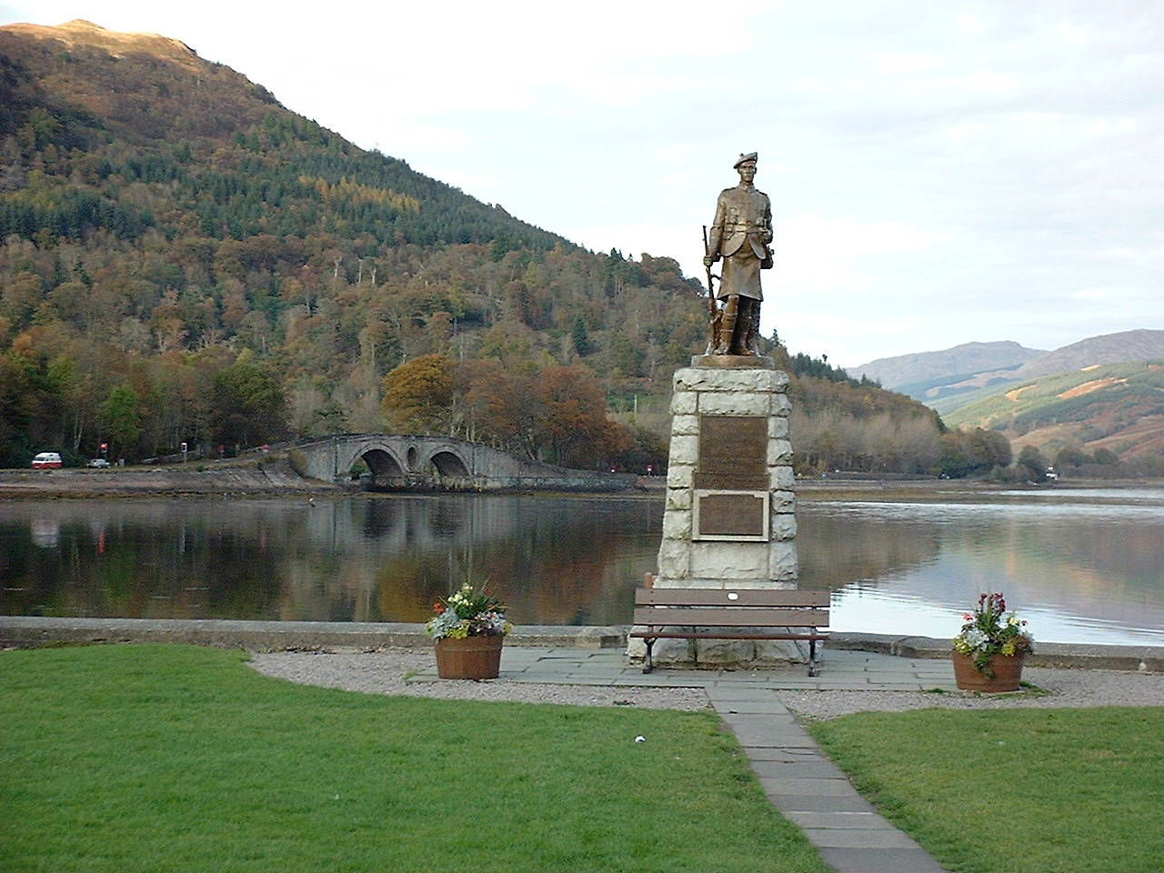 Inverarary view across bay