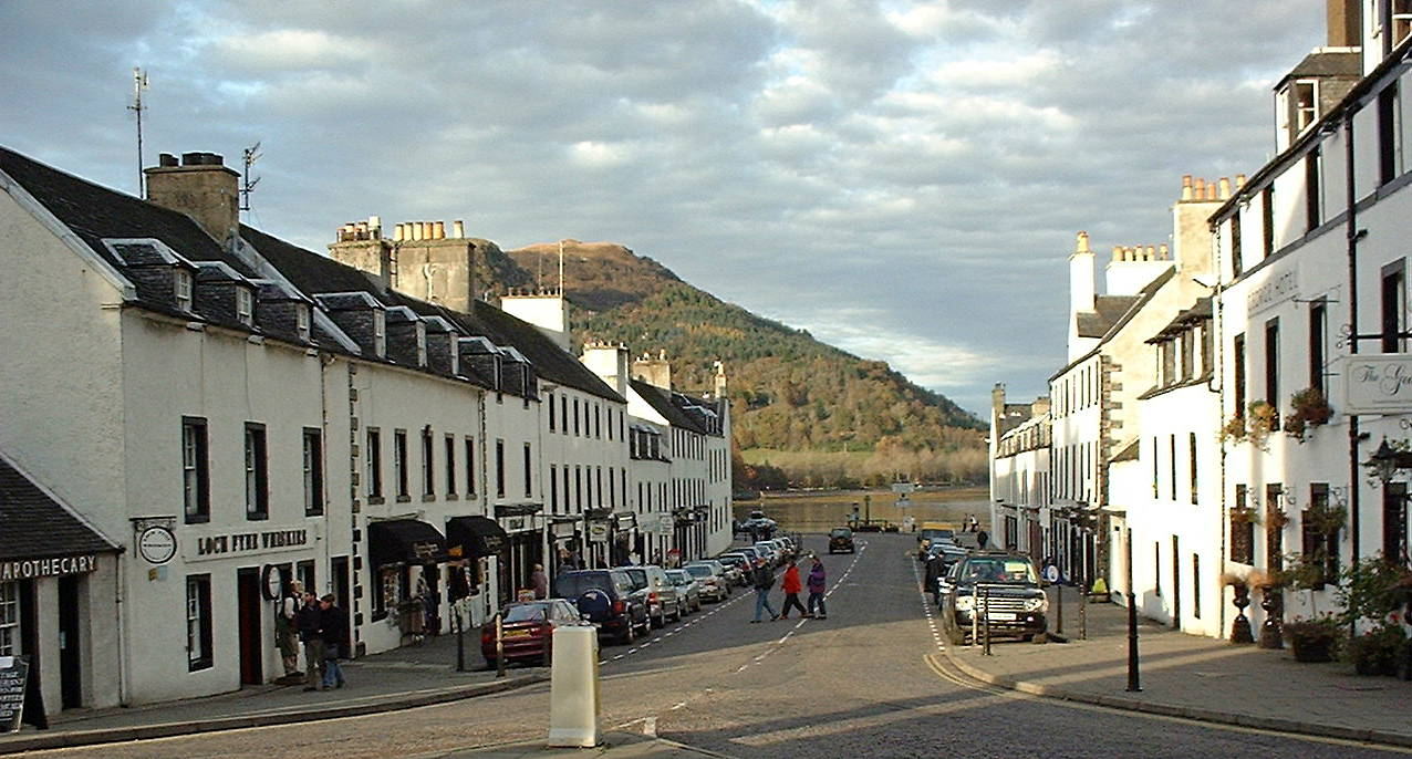 Main Street in Inverarary