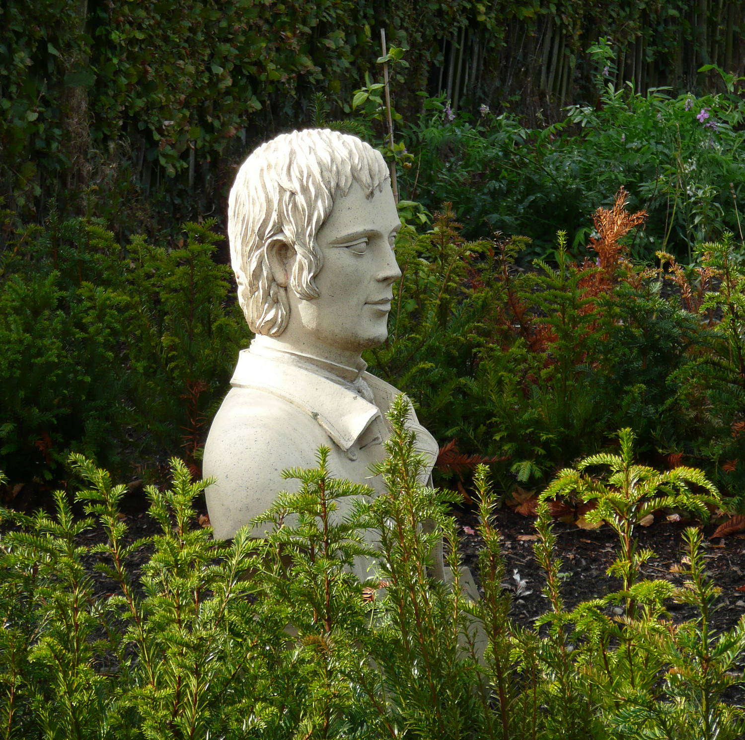 Bust of Robert Burns