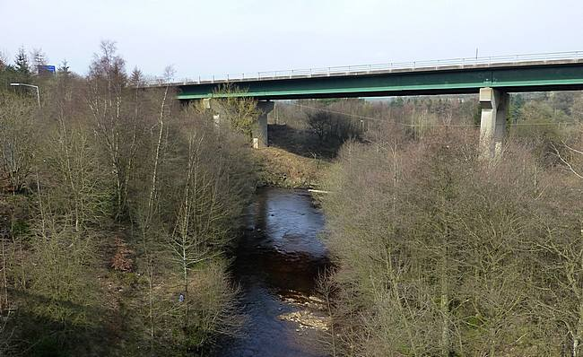Motorway Bridge Lesmahagow