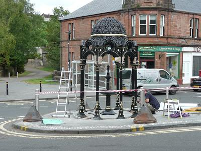New Fountain in Lesmahagow