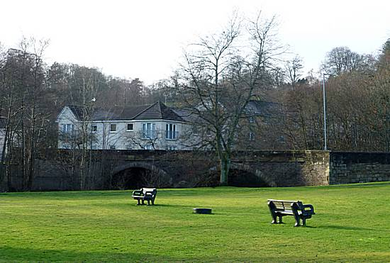 Turholm Bridge from McKirdy Park