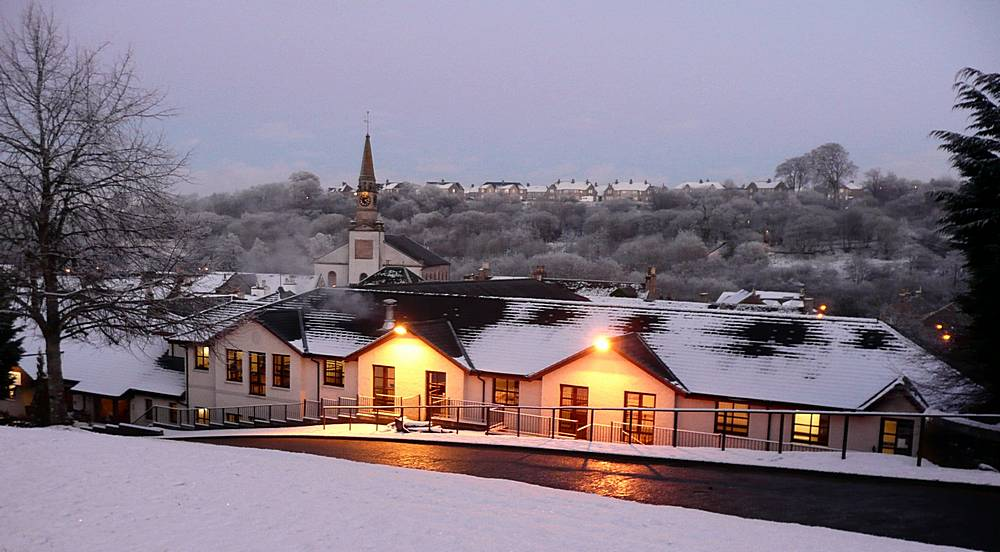 Winter in Lesmahagow 2010