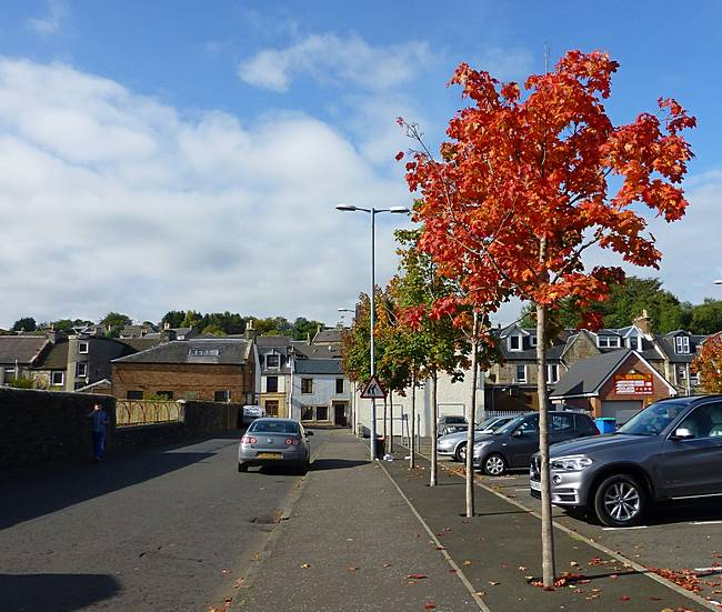 Autumn in Lesmahagow