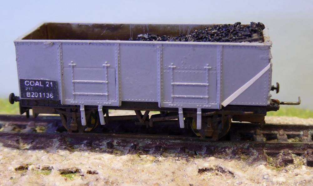 unfitted 21T mineral wagons