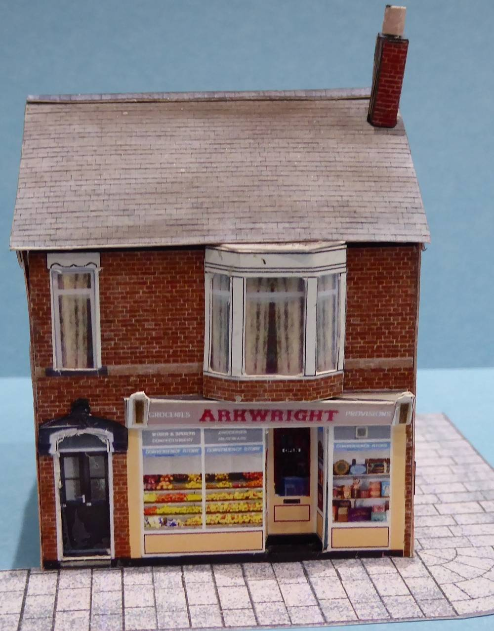 Model of Arkwrights Shop