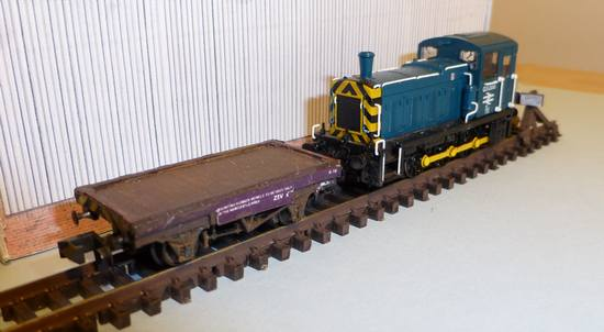 Match Wagon with Class 03 Shunter