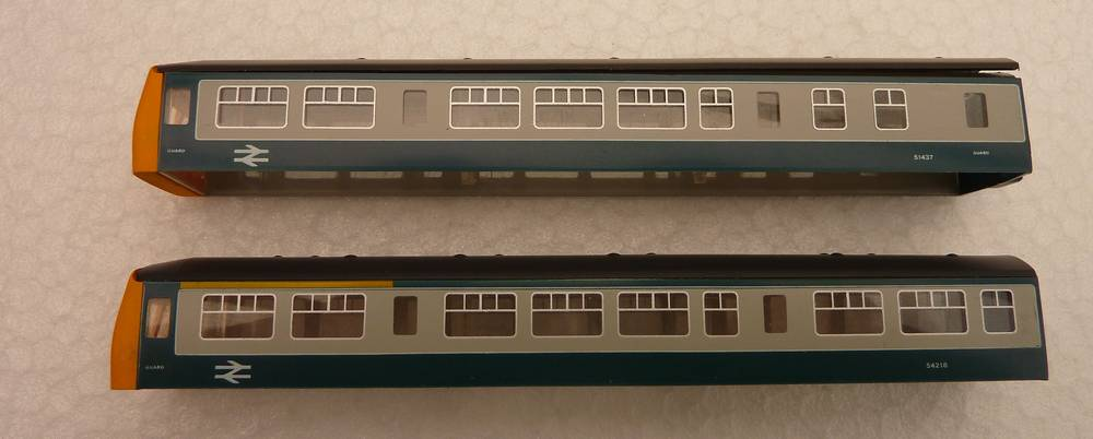 DMU bodies as bought