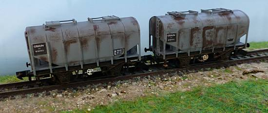 Rusted wagons