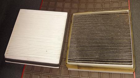 New and old filters