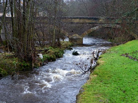 River Nethan at Turfholm Bridge, Lesmahagow