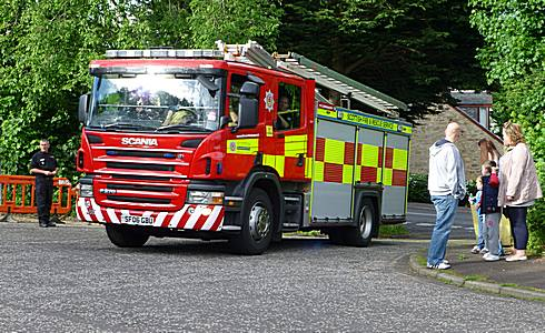 Lesmahagow Fire Engine
