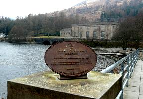 Plaque at Inveruglas