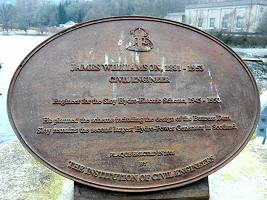 Larger image of plaque